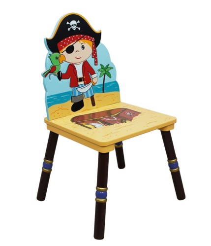 Pirate Island Set of 2 Chairs | Treasure Chest, Little Captain Cook!