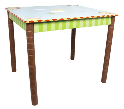 Sunny Safari Table | Kids Jungle Table with Animals