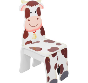 Happy Farm Cow Chair for Kids