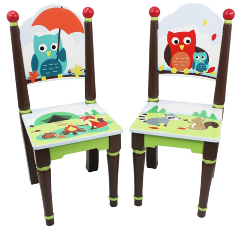 Enchanted Woodland Set of 2 Chairs for Kids - Forest theme (Chairs Only)