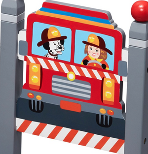 Kids Little Fire Fighters Set of 2 Chairs