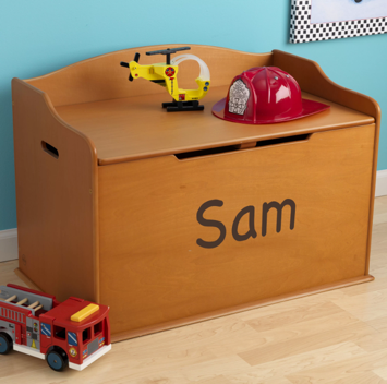 Personalized Honey Austin Toy Box