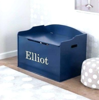 Personalized Blueberry Austin Toy Box by KidKraft