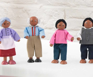 African American Doll Family for Girls Doll houses by kidkraft