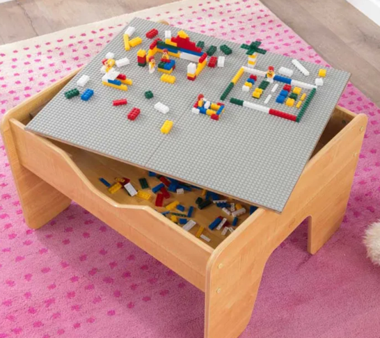 Activity Lego Table with Board for Kids by Kidkraft