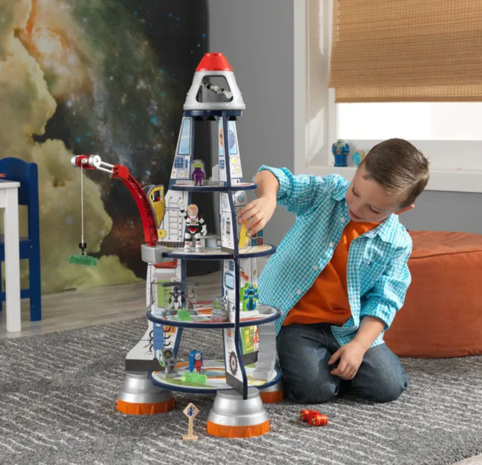 Rocket Ship Play Set for Kids that Love Planets! By Kidkraft