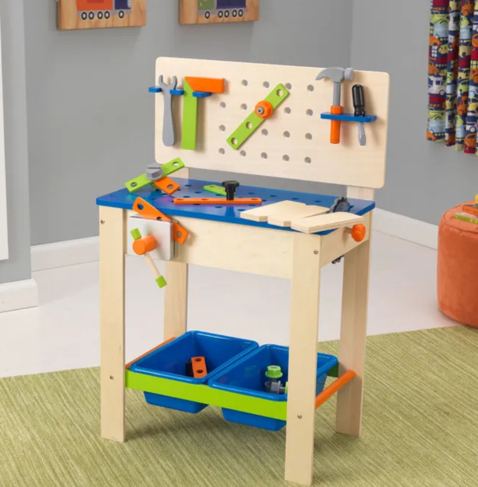 Workbench Tools Handy Man Play Set for Kids By Kidkraft