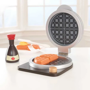 Kids Waffle Maker Play Toy Set