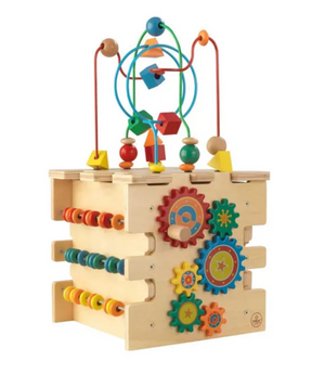 Deluxe Activity Cube for Kids by Kidkraft