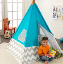 Deluxe Kids Play Teepee in Turquoise