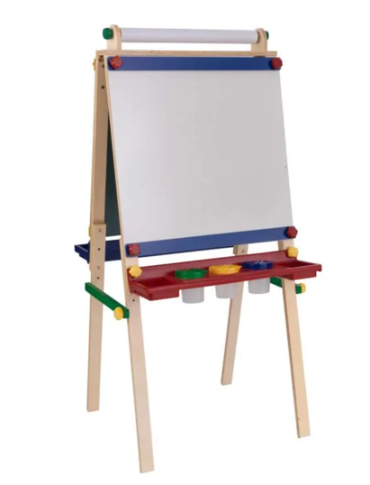 Artists Kids Easels with Paper roll - Primary Colors by Kidkraft