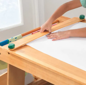 Art Table for Kids with Drying Rack and Storage by Kidkraft