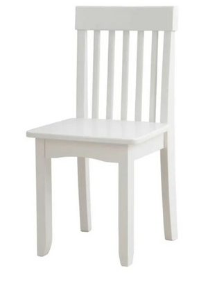 Avalon Toddler Wooden Chair in White - by Kidkraft