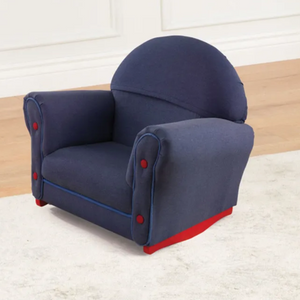 Denim Kids Rocking Chair Couch with Slip Cover by Kidkraft