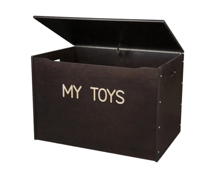 Big Toy Box - Wooden & Personalized - Unfinished Option Available!
