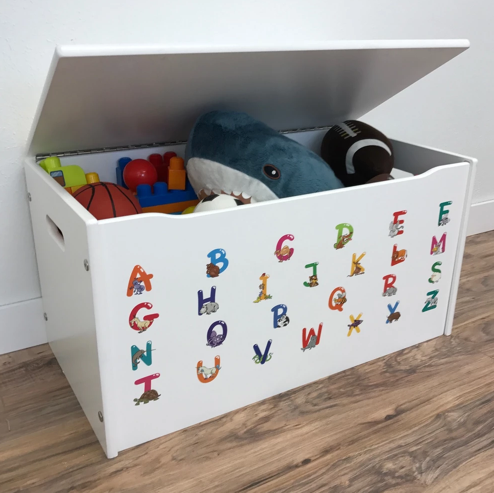 Alphabet Toy Box for Little Boys and Girls - With Animals!