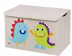 Kids 24x15x14 Inches Storage Chest in Polyester - Monsters