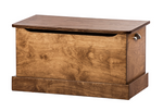 Beautiful Wooden Toy Box with Safety Lid