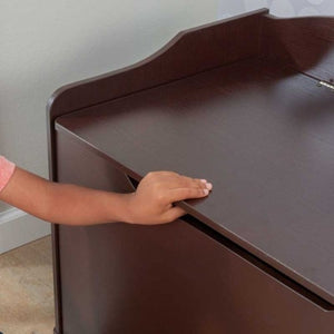 Austin Toy Box in Espresso | Toy Box City
