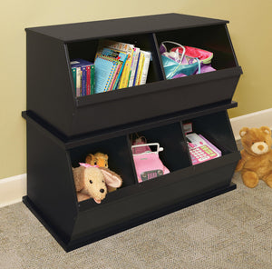 Badger Stackable Storage Cubbies | Toy Box City
