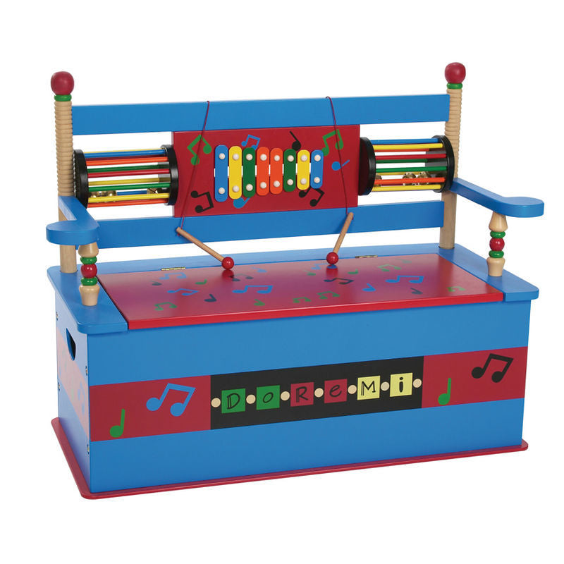 Musical Toy Box Bench | Toy Box City