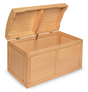 Barrel Top Toy Box - Natural | Toy Box City