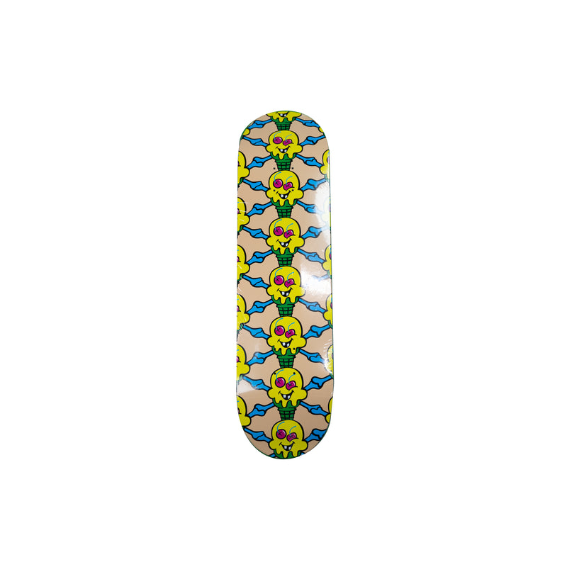 IceCream Cross Cones Skatedeck