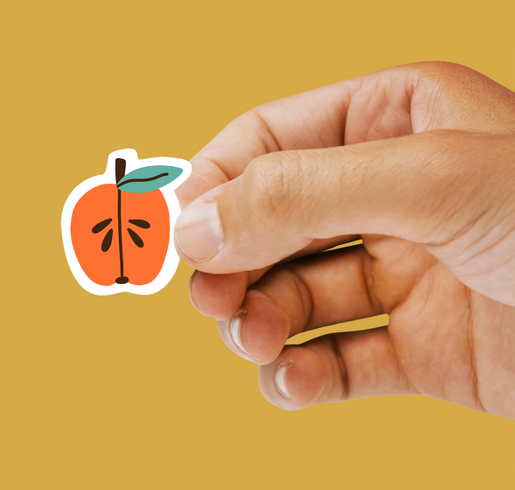 Apple Seeds Sticker (Glossy Vinyl)