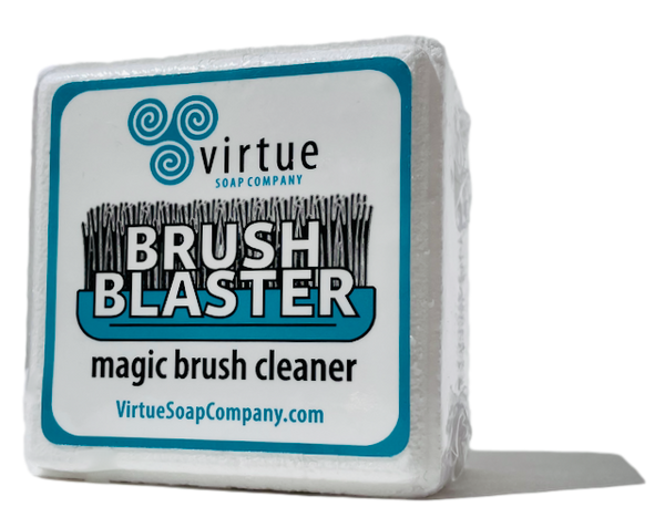 Brush Blaster : : magic brush cleaner : : It's THE BOMB! - Virtue Soap Company