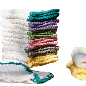 NEW!  100% Cotton Washcloths, Handmade in the USA. - Virtue Soap Company