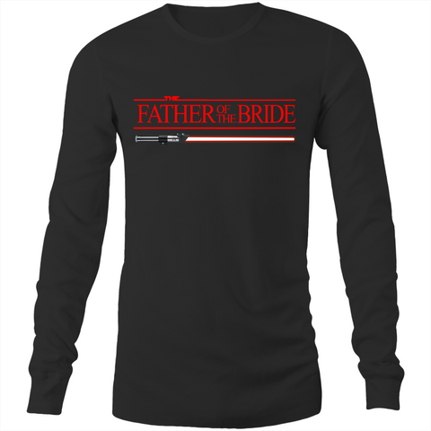 SW - FATHER OF THE BRIDE - JEDI WEDDING - Long Sleeve T-Shirt