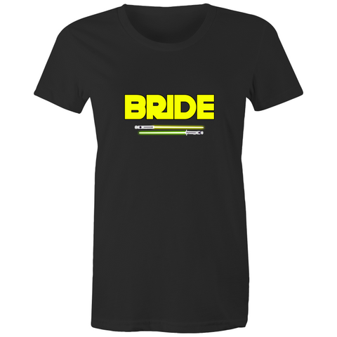SW - BRIDE - JEDI WEDDING - Womens T-shirt