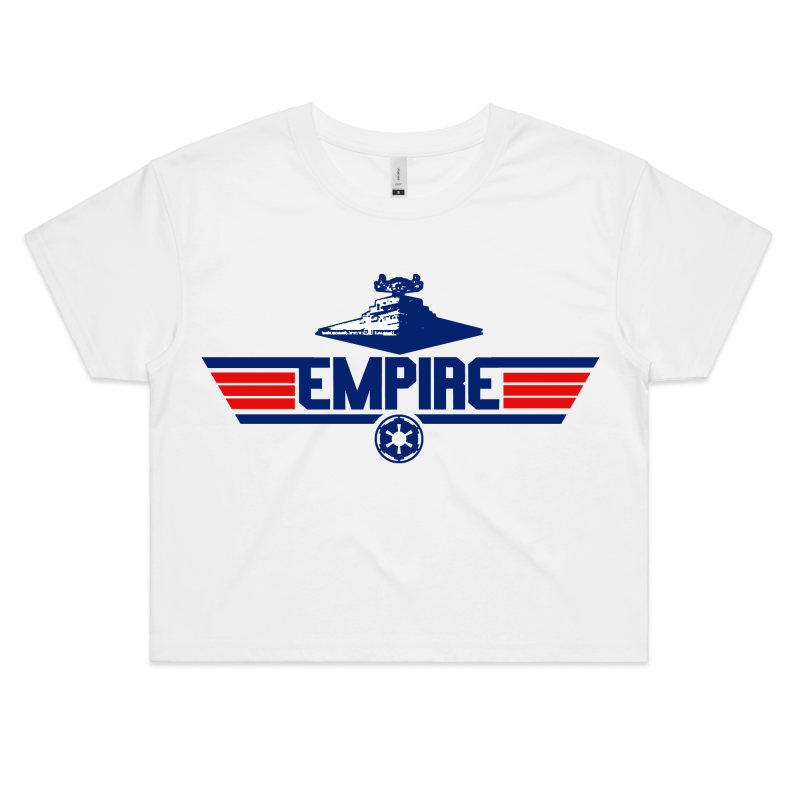 EMPIRE - Womens Crop Tee