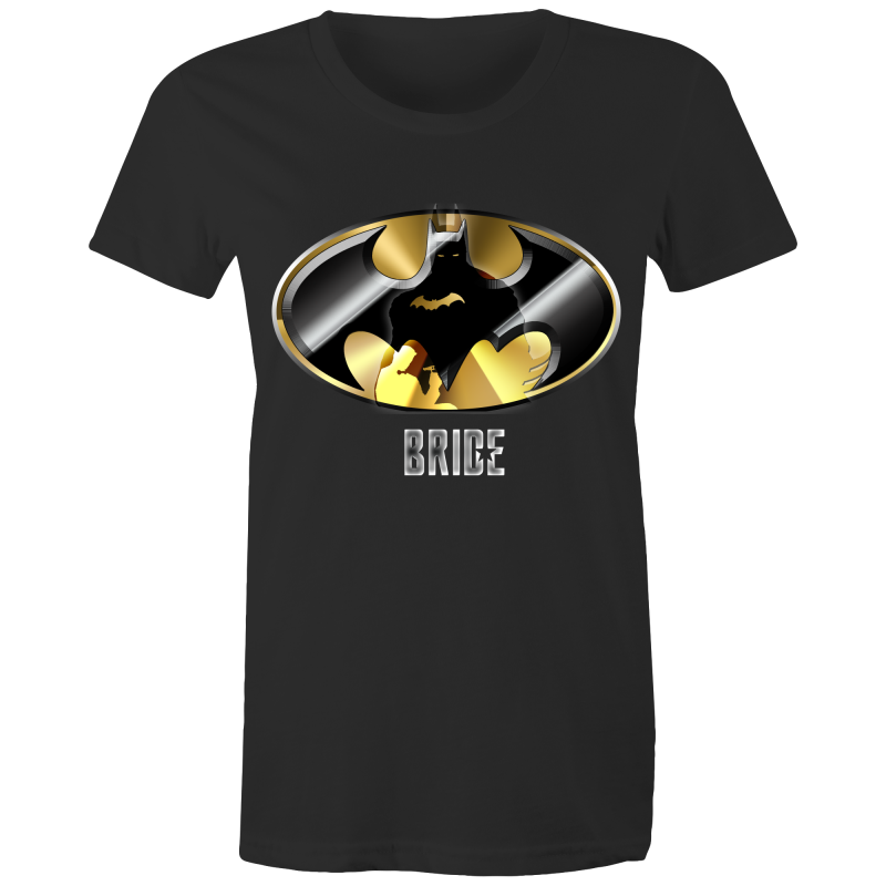 JUSTICE LEAGUE WAYNE BRIDE - Womens T-shirt