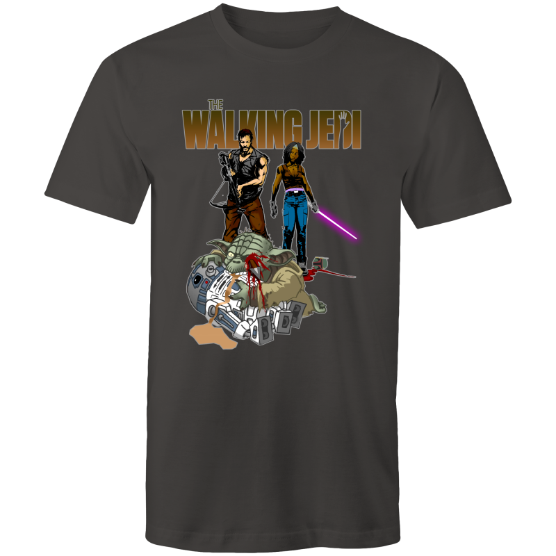 THE WALKING JEDI - Mens T-Shirt - Everything Sweaties
