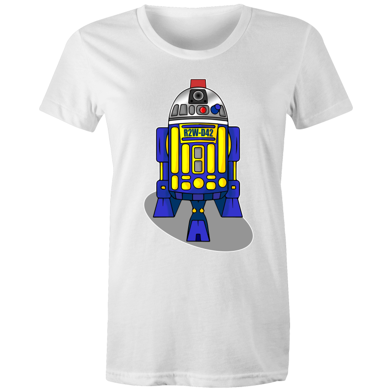 R2W-D42 - Womens T-shirt - Everything Sweaties