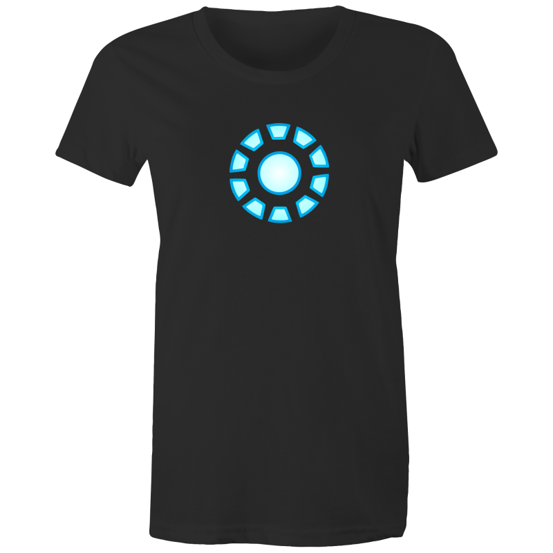 10 YEAR ANNIVERSARY STARK REACTOR- Womens T-shirt - Everything Sweaties
