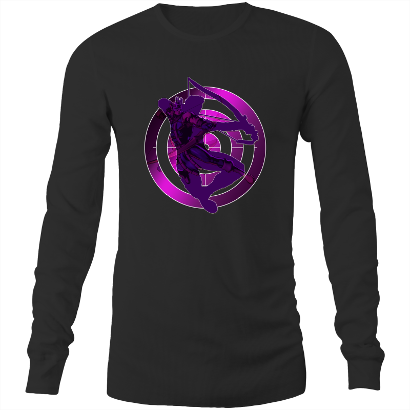 HAWKEYE - Mens Long Sleeve T-Shirt