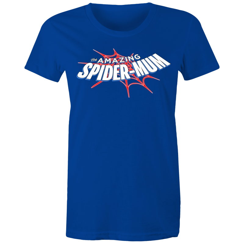The Amazing Spider-Mum - Mothers Day - Womens T-shirt