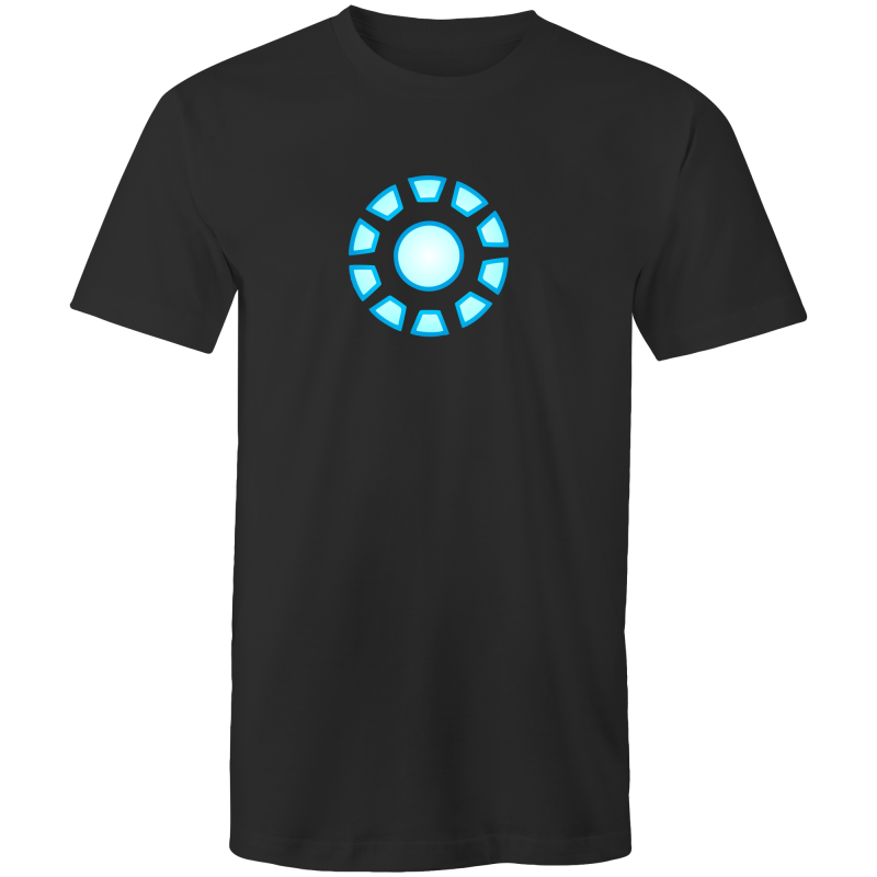 10 YEAR ANNIVERSARY STARK REACTOR - Mens T-Shirt - Everything Sweaties