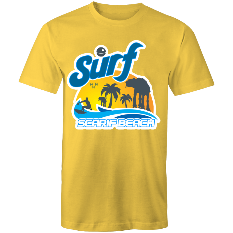 SURF SCARIF - Mens T-Shirt - Everything Sweaties