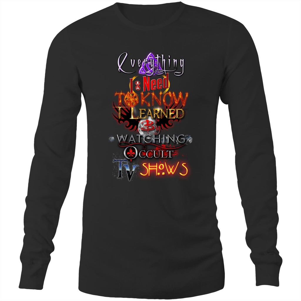 EVERYTHING OCCULT TV - Long Sleeve T-Shirt