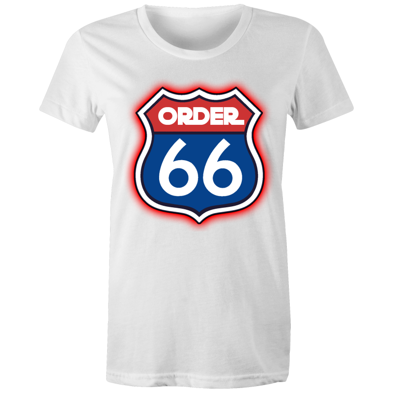 ORDER 66 / ROUTE 66 - Womens T-shirt - Everything Sweaties