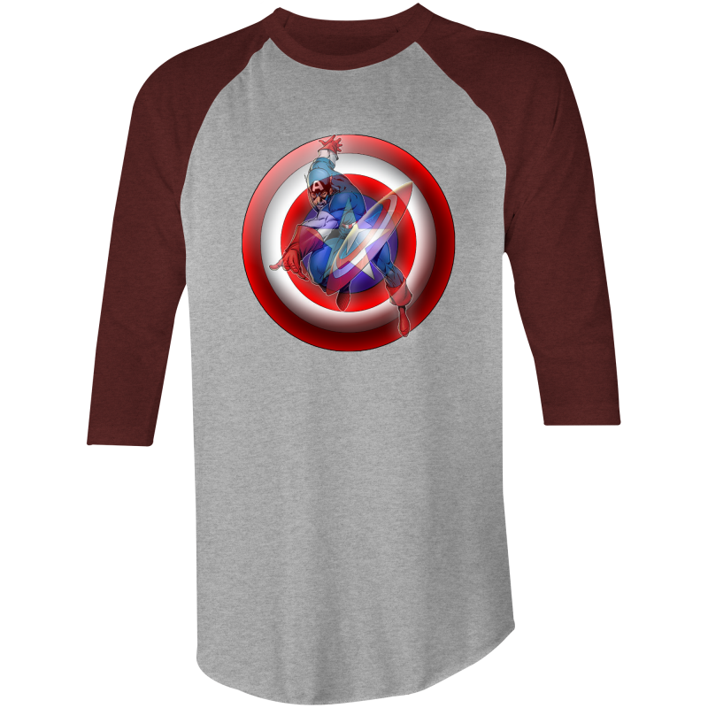 CAPTAIN AMERICA - 3/4 Sleeve T-Shirt