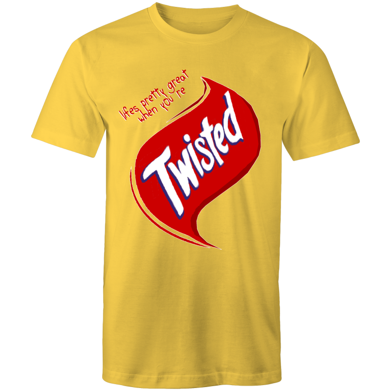 TWISTED - Mens T-Shirt
