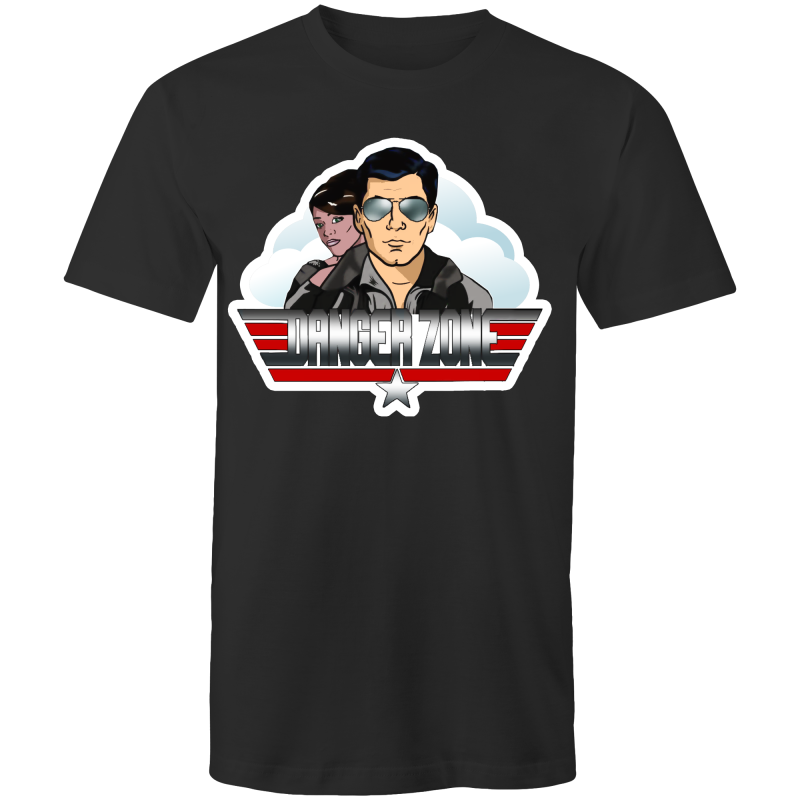 DANGER ZONE - Mens T-Shirt - Everything Sweaties