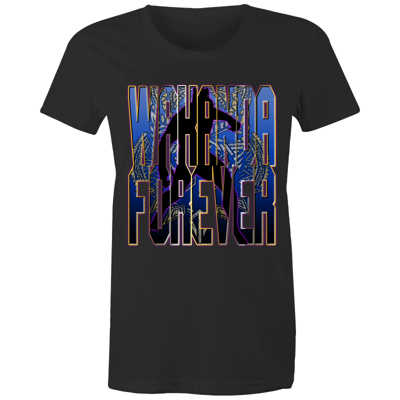 BLACK PANTHER - WAKANDA FOREVER - Womens T-shirt