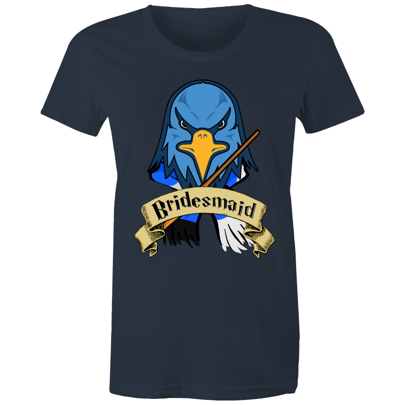 HP - RAVENCLAW BRIDESMAID - POTTER WEDDING - Womens T-shirt