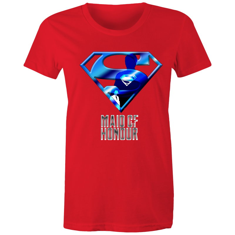 JUSTICE LEAGUE KENT MAID OF HONOUR - Womens T-shirt