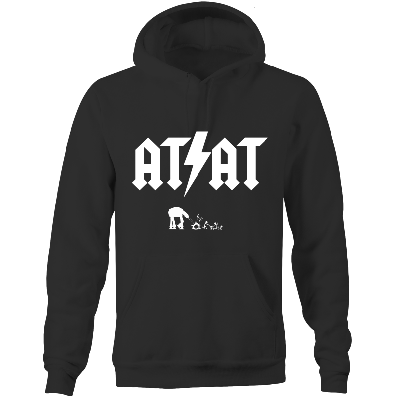 ATAT - Pocket Hoodie Sweatshirt - Everything Sweaties